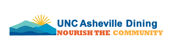 unc asheville dining services logo
